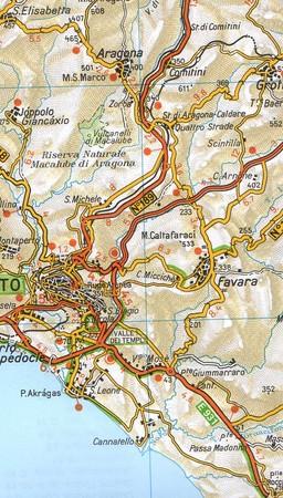 SYCYLIA mapa samochodowa 1:200 000 TOURING EDITORE 2020 (5)
