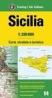 SYCYLIA mapa samochodowa 1:200 000 TOURING EDITORE 2020 (1)