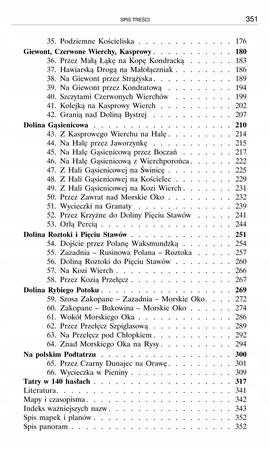 TATRY POLSKIE przewodnik turystyczny J.Nyka TRAWERS 2020 (3)