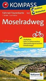 MOZELA RK7007 mapa rowerowa 1::50 000 KOMPASS 2020