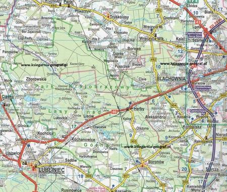 POLSKA atlas samochodowy 1:300 000 2021/2022 EXPRESSMAP (2)