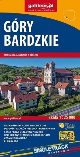 GÓRY BARDZKIE mapa turystyczna 1:25 000 STUDIO PLAN 2020/2021 (1)