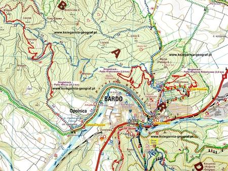 GÓRY BARDZKIE mapa turystyczna 1:25 000 STUDIO PLAN 2020/2021 (2)