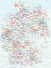 GÓRNE ŁUŻYCE, POJEZIERZE ŁUŻYCKIE mapa rowerowa 1:75 000 ADFC (3)