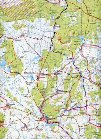 DOLNE ŁUŻYCE, POJEZIERZE ŁUŻYCKIE mapa rowerowa 1:75 000 ADFC (4)