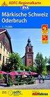MARKISCHE SCHWEIZ / ODERBRUCH mapa rowerowa 1:75 000 ADFC (1)