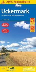 UCKERMARK mapa rowerowa 1:75 000 ADFC 2020