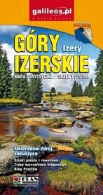 GÓRY IZERSKIE IZERY mapa turystyczna 1:25 000 STUDIO PLAN 2020