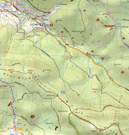 GÓRY IZERSKIE IZERY mapa turystyczna 1:25 000 PLAN 2020 (4)