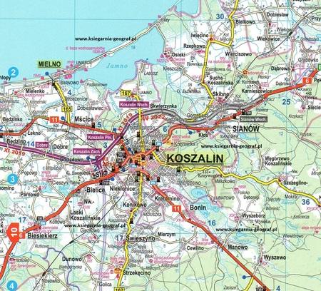 POLSKA atlas samochodowy 1:250 000 + EUROPA 2021/2022 EXPRESSMAP (2)