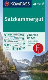 SALZKAMMERGUT WK229 mapa turystyczna KOMPASS