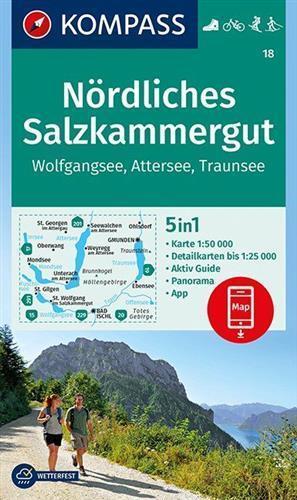 PÓŁNOCNY SALZKAMMERGUT WK18 mapa turystyczna KOMPASS (1)