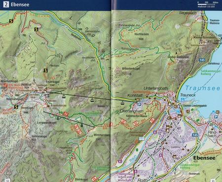 PÓŁNOCNY SALZKAMMERGUT WK18 mapa turystyczna KOMPASS (3)