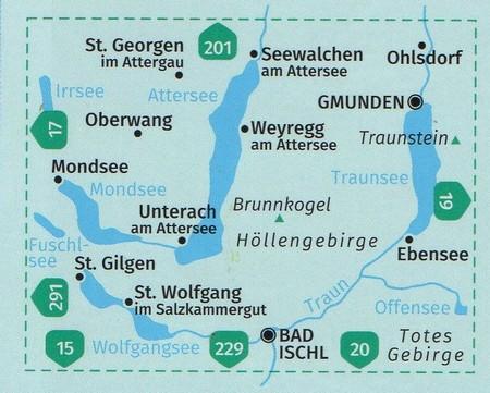 PÓŁNOCNY SALZKAMMERGUT WK18 mapa turystyczna KOMPASS (4)