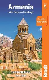 ARMENIA I GÓRSKI KARABACH 5 przewodnik turystyczny BRADT 2018