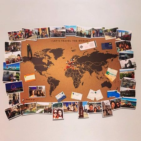 MAPA KORKOWA ŚWIAT Miss Wood Woody Map XXL 120 x 90 cm (5)