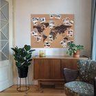 MAPA KORKOWA ŚWIAT Miss Wood Woody Map XXL 120 x 90 cm (6)
