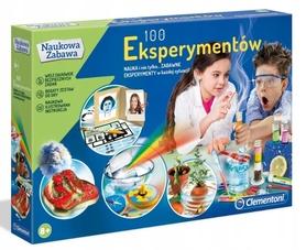 100 EKSPERYMENTÓW Clementoni