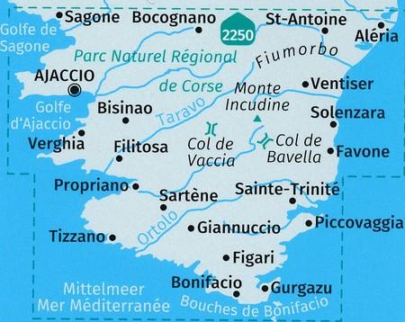 KORSYKA POŁUDNIOWA komplet trzech map 1:50 000 KOMPASS 2020 (4)