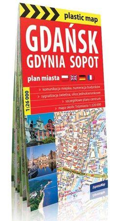 TRÓJMIASTO GDAŃSK GDYNIA SOPOT foliowany plan miasta EXPRESSMAP (1)
