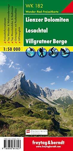 LIENZER DOLOMITEN LESACHTAL mapa turystyczna 1:50 000 FREYTAG & BERNDT (1)