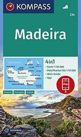 MADERA mapa turystyczna 1:50 000 KOMPASS 2019