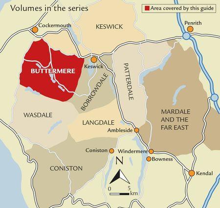Walking the Lake District Fells - Buttermere przewodnik CICERONE 2020 (4)