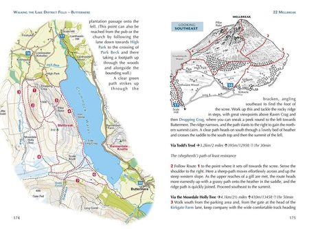 Walking the Lake District Fells - Buttermere przewodnik CICERONE 2020 (3)