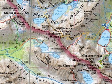 TATRY POLSKIE I SŁOWACKIE  2w1: przewodnik+ mapa EXPRESSMAP 2020 (2)