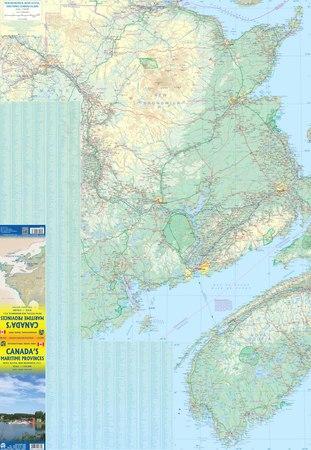 KANADA PROWINCJA MARITIME 1:530 000 mapa ITMB 2019 (3)