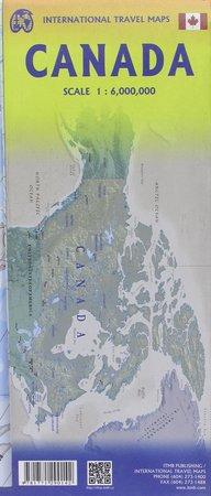 KANADA mapa administracyjno-drogowa 1:6 000 000 ITMB (2)