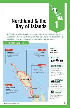 Auckland & Bay of Islands Road Trips przewodnik LONELY PLANET (8)