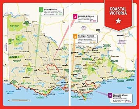 COASTAL VICTORIA Road Trips przewodnik LONELY PLANET (4)