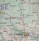 BUŁGARIA mapa drogowo-kolejowa 1:390 000 ITMB 2020 (2)
