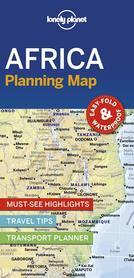 AFRYKA mapa do planowania LONELY PLANET 2019