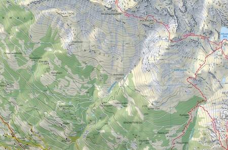 031 DOLOMITI DI BRAIES - PRAGSER DOLOMITEN - MAREBBE - ENNEBERG turystyczna 1:25 000 TABACCO (5)