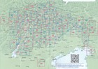 031 DOLOMITI DI BRAIES - PRAGSER DOLOMITEN - MAREBBE - ENNEBERG turystyczna 1:25 000 TABACCO (4)