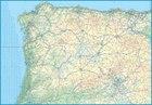 HISZPANIA PÓŁNOCNA mapa drogowa - kolejowa ITMB 2021 (2)