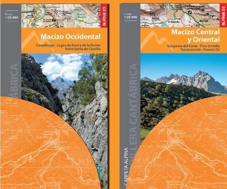 PICOS DE EUROPA NP dwie mapy 1:25 000 ALPINA (3)