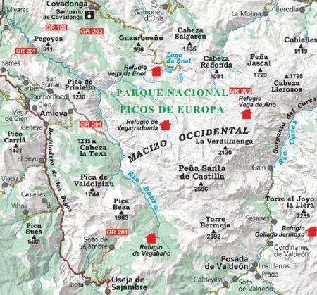 PICOS DE EUROPA NP dwie mapy 1:25 000 ALPINA (4)