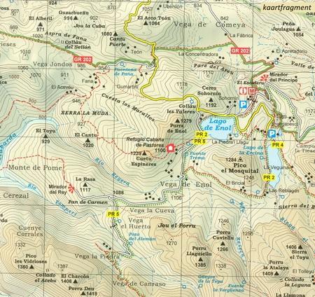PICOS DE EUROPA NP dwie mapy 1:25 000 ALPINA (6)