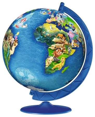GLOBUS Puzzle 3D 180 elementów Disney RAVENSBURGER (1)