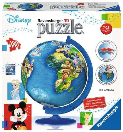GLOBUS Puzzle 3D 180 elementów Disney RAVENSBURGER (2)