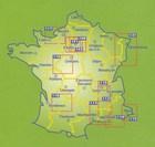 PERIGORD QUERCY 1:150 000 mapa 118 MICHELIN (4)