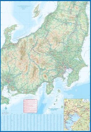 JAPONIA ŚRODKOWA mapa 1:600 000 ITMB 2021 (2)