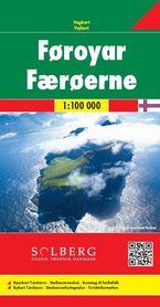 WYSPY OWCZE mapa 1:100 000 SOLBERG FB