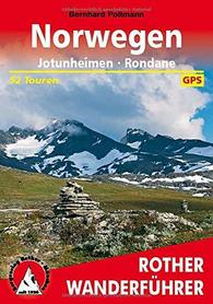 NORWEGIA Jotunheimen - Rondane przewodnik ROTHER 2019 j.niemiecki