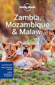 ZAMBIA MOZAMBIK MALAWI 3 przewodnik LONELY PLANET 2017
