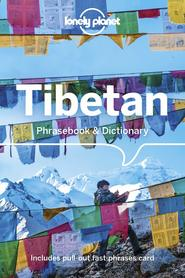 TIBETAN Lonely Planet Phrasebook & Dictionary 2020