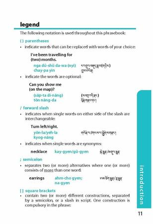 TIBETAN Lonely Planet Phrasebook & Dictionary 2020 (10)